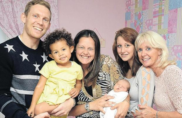 Albion striker delivers baby