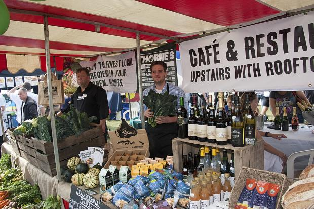 Harvesting fine food at Brighton and Hove Food and Drink Festival