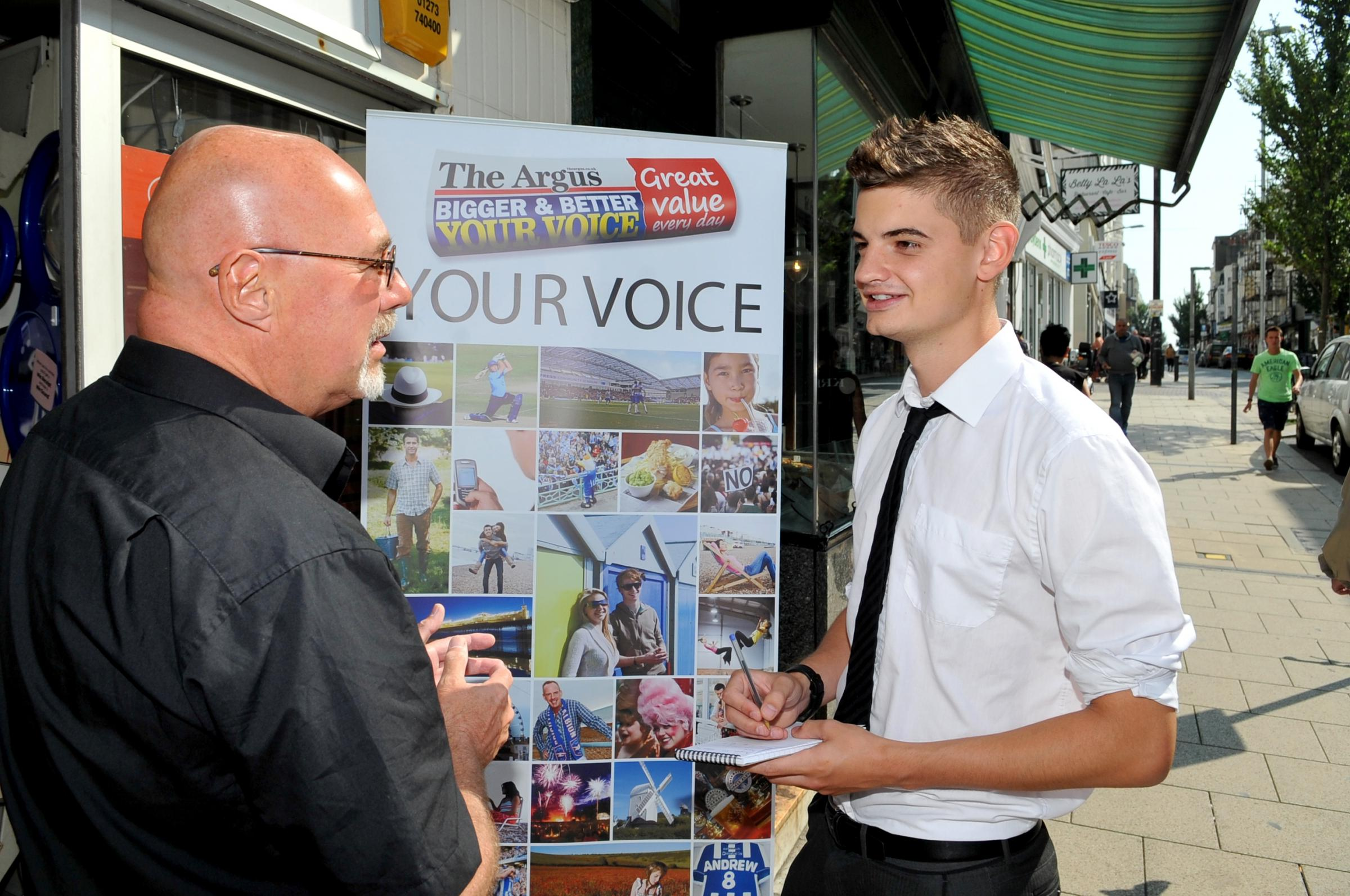 Argus journalist named best young reporter in the country