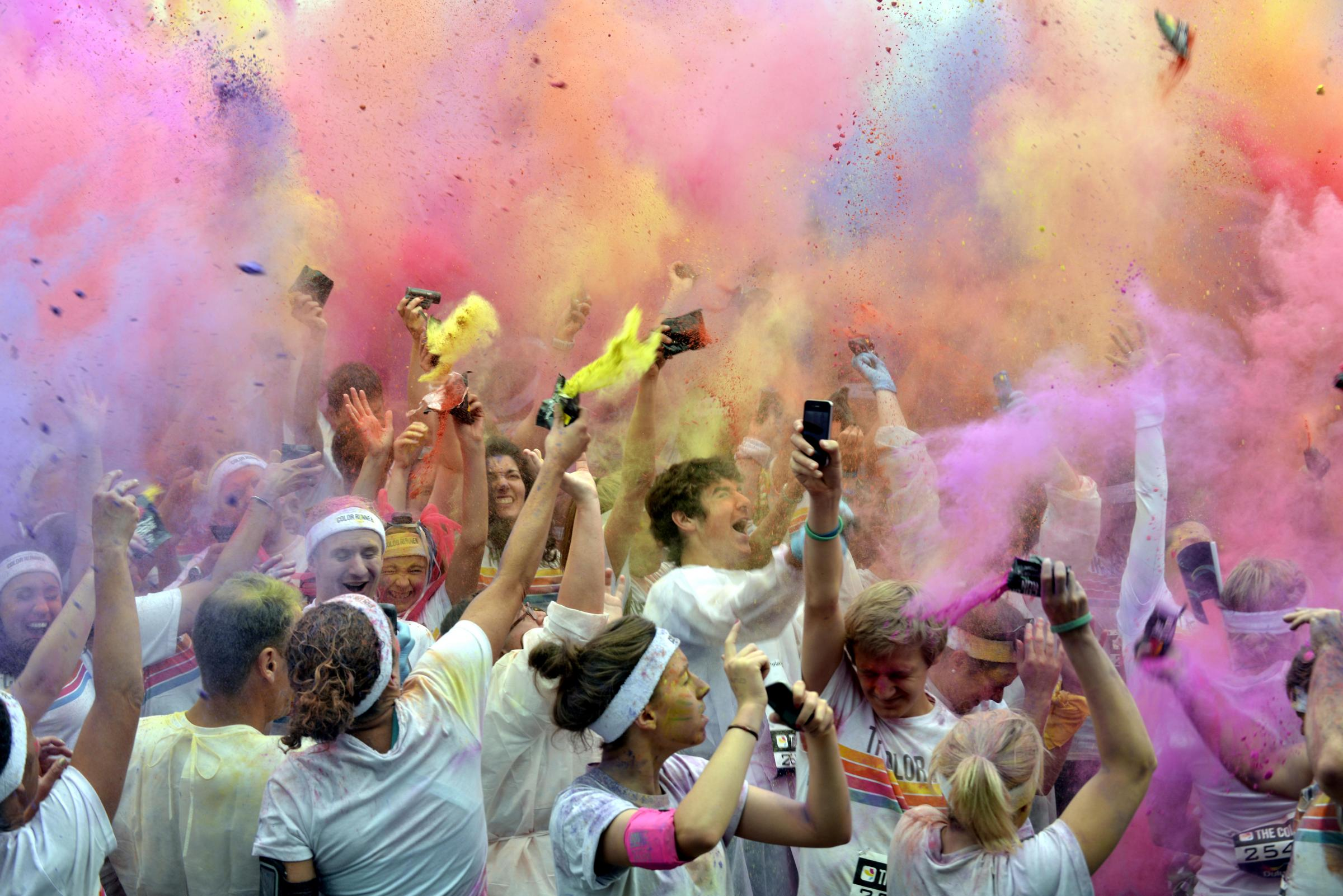 Brighton and Hove set for bright 2014 as popular Colour Run returns