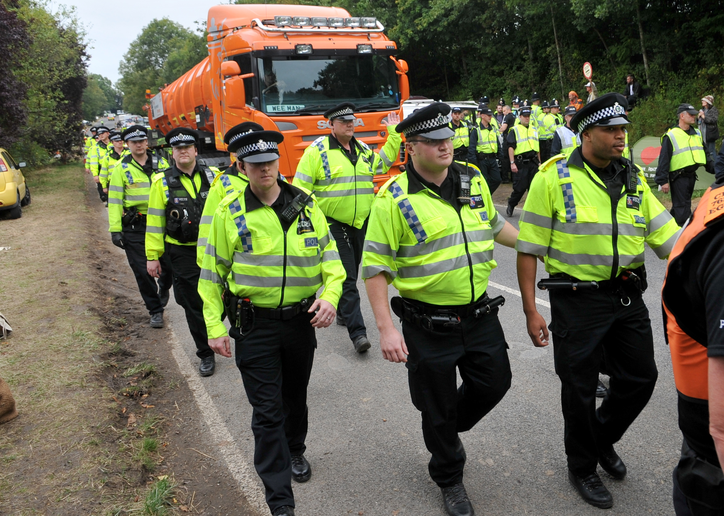 Special report: Half of cases dropped against Balcombe protesters despite £4m bill