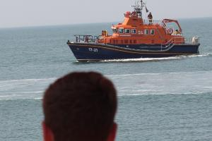 Team effort to save man lost under the waves just metres from Hove seafront