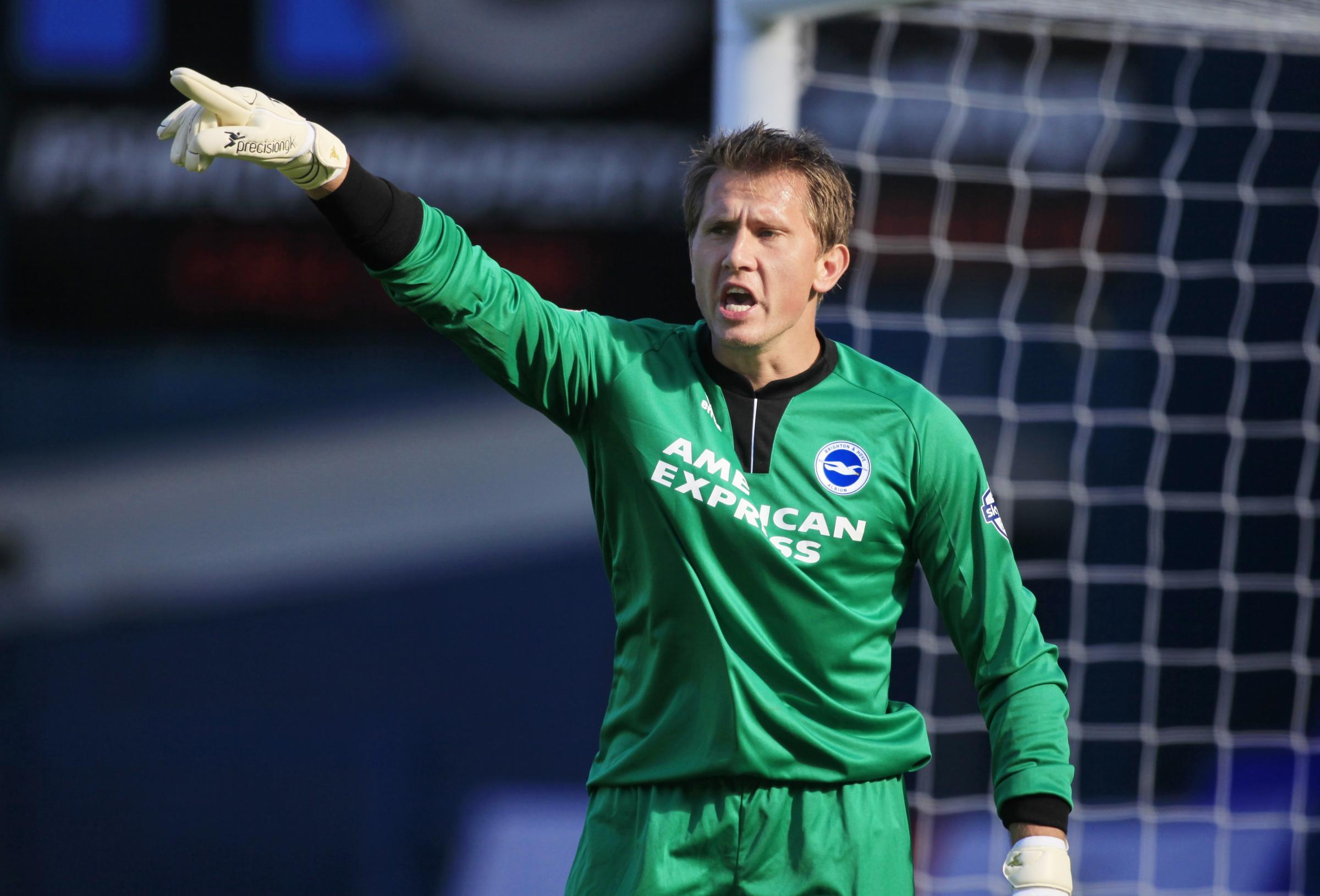 Albion keeper Tomasz Kuszczak wants to point his career back to the Premier League
