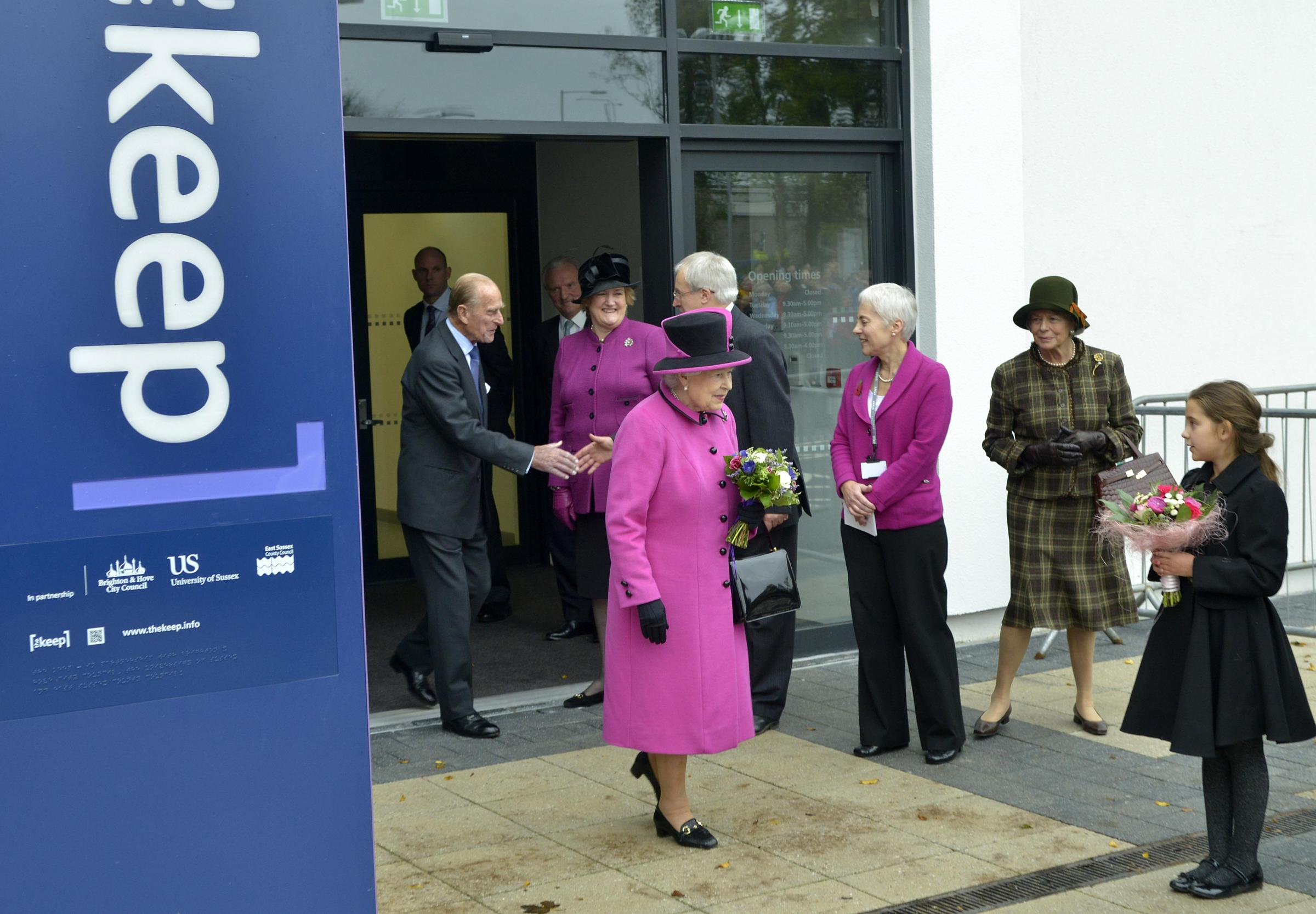 Treasured moments to Keep as the Queen opens archive in Brighton