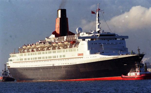 Man crosses Atlantic on QE2 before being refused entry to Canada and arrested