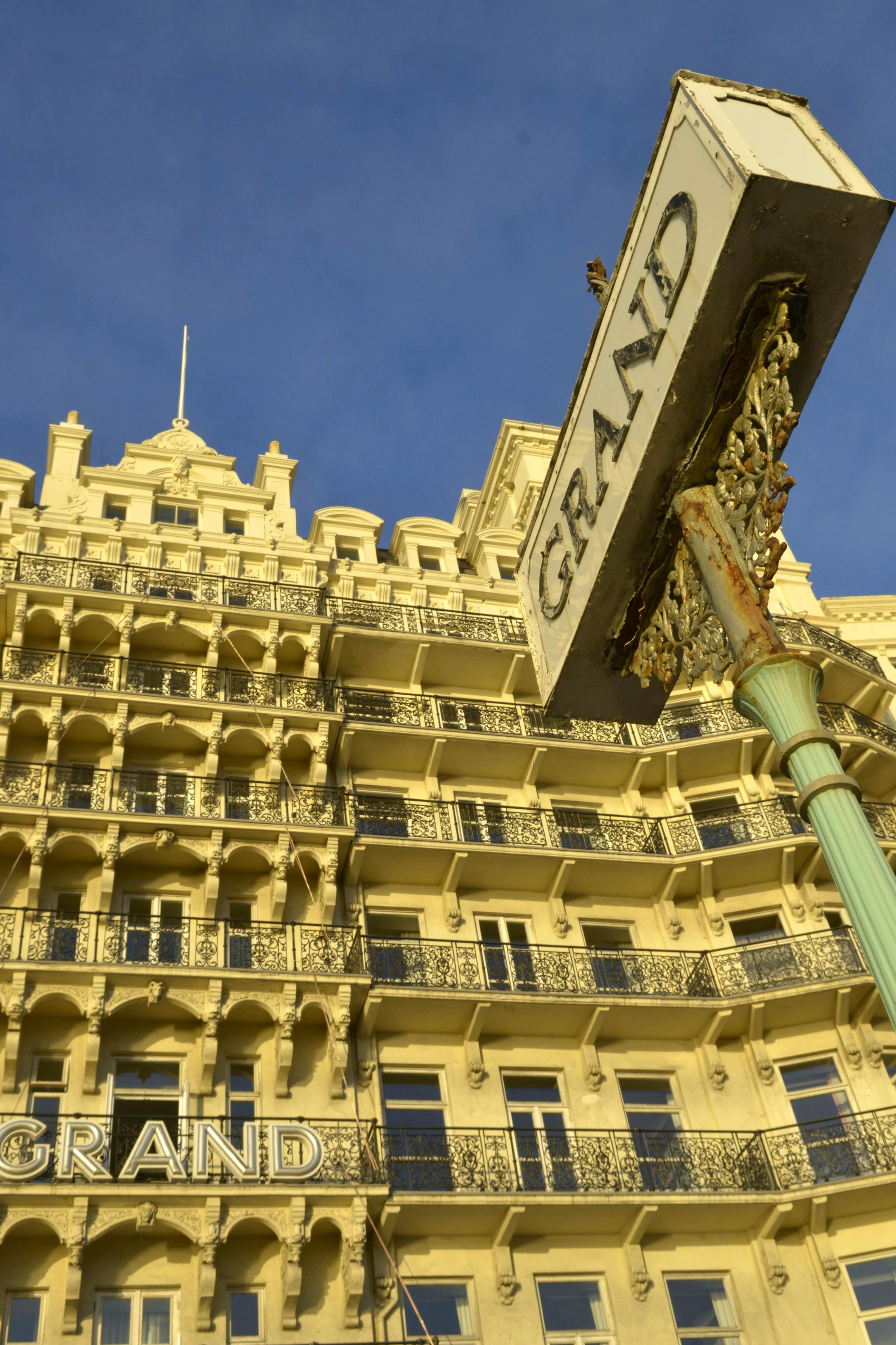 Grand plan for Brighton's most iconic hotel