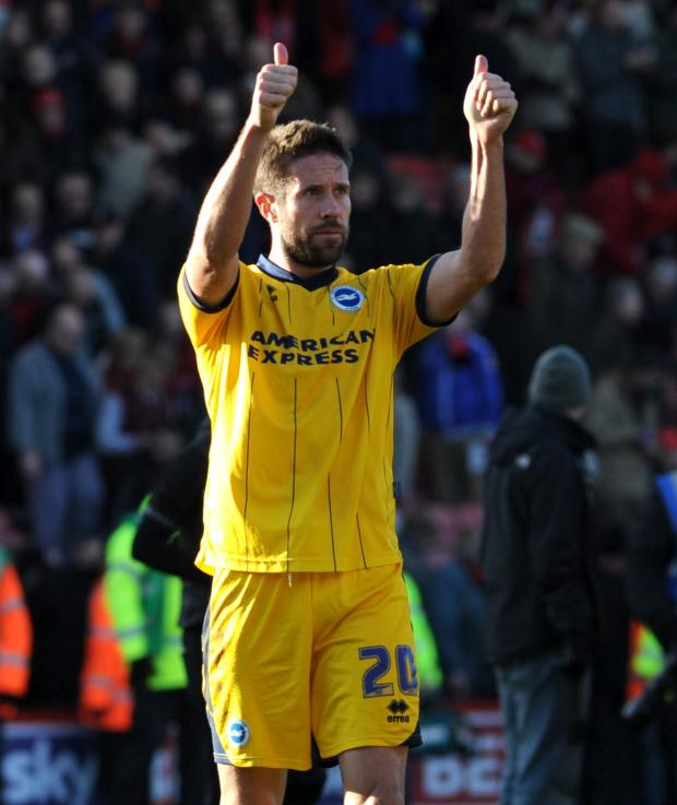The Argus: Matt Upson believes the home draw is key for Albion