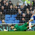 The Argus: Peter Brezovan in action againt Leicester