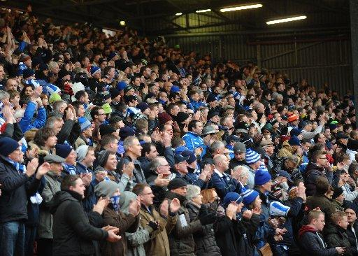The Argus: Seagulls fans daring to dream of play-off spot