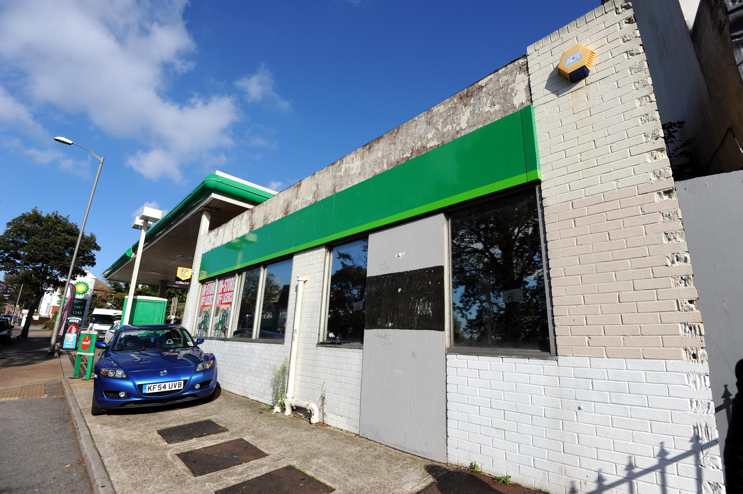 The Ditchling Road BP garage