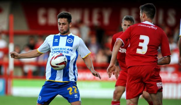 The Argus: George Barker is set to join Swindon Town after failing to force his way into contention at Albion