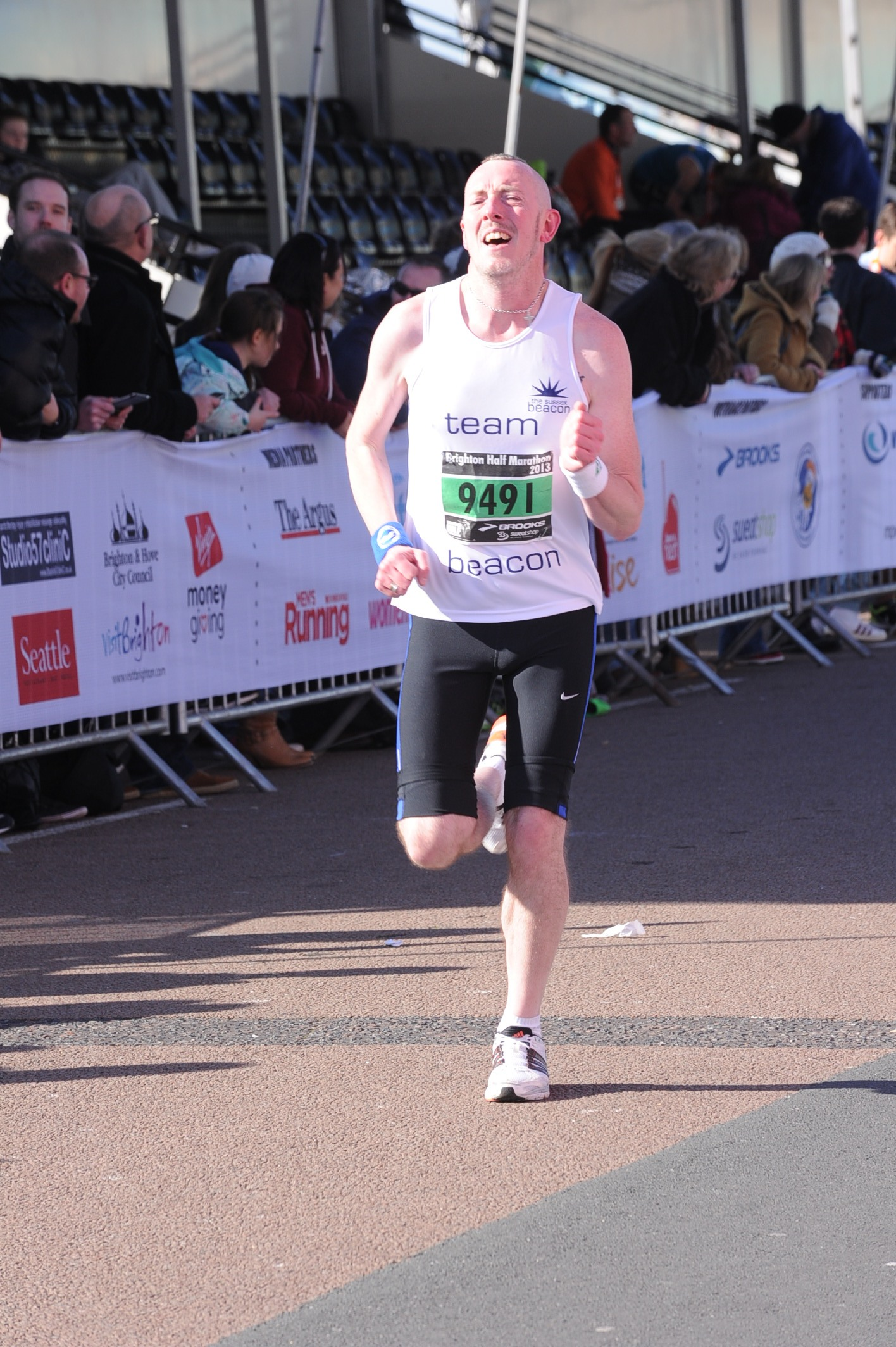 First of four Brighton Half Marathon charity ambassadors opens up