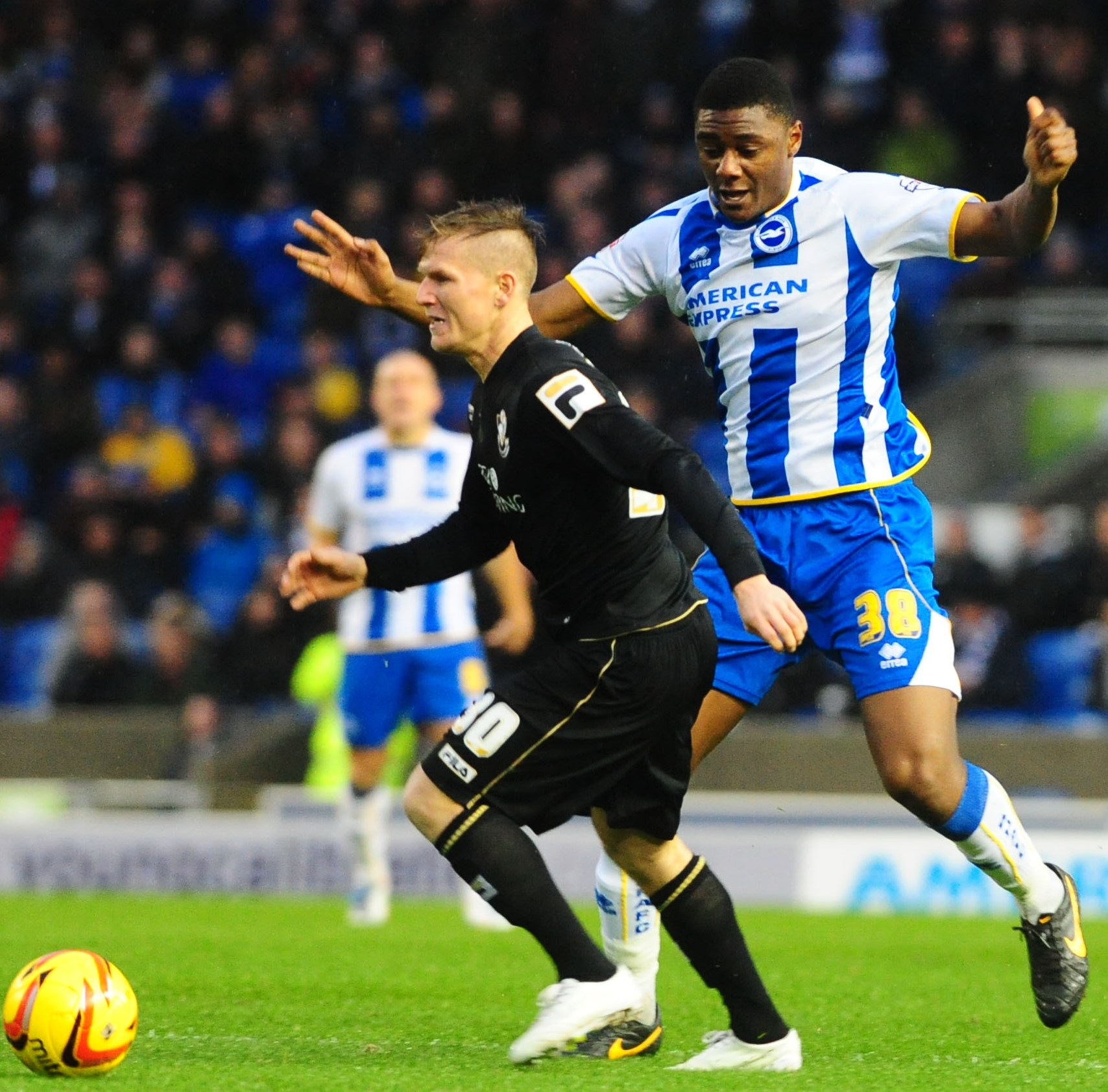 Rohan Ince has been a big presence in midfield for Albion