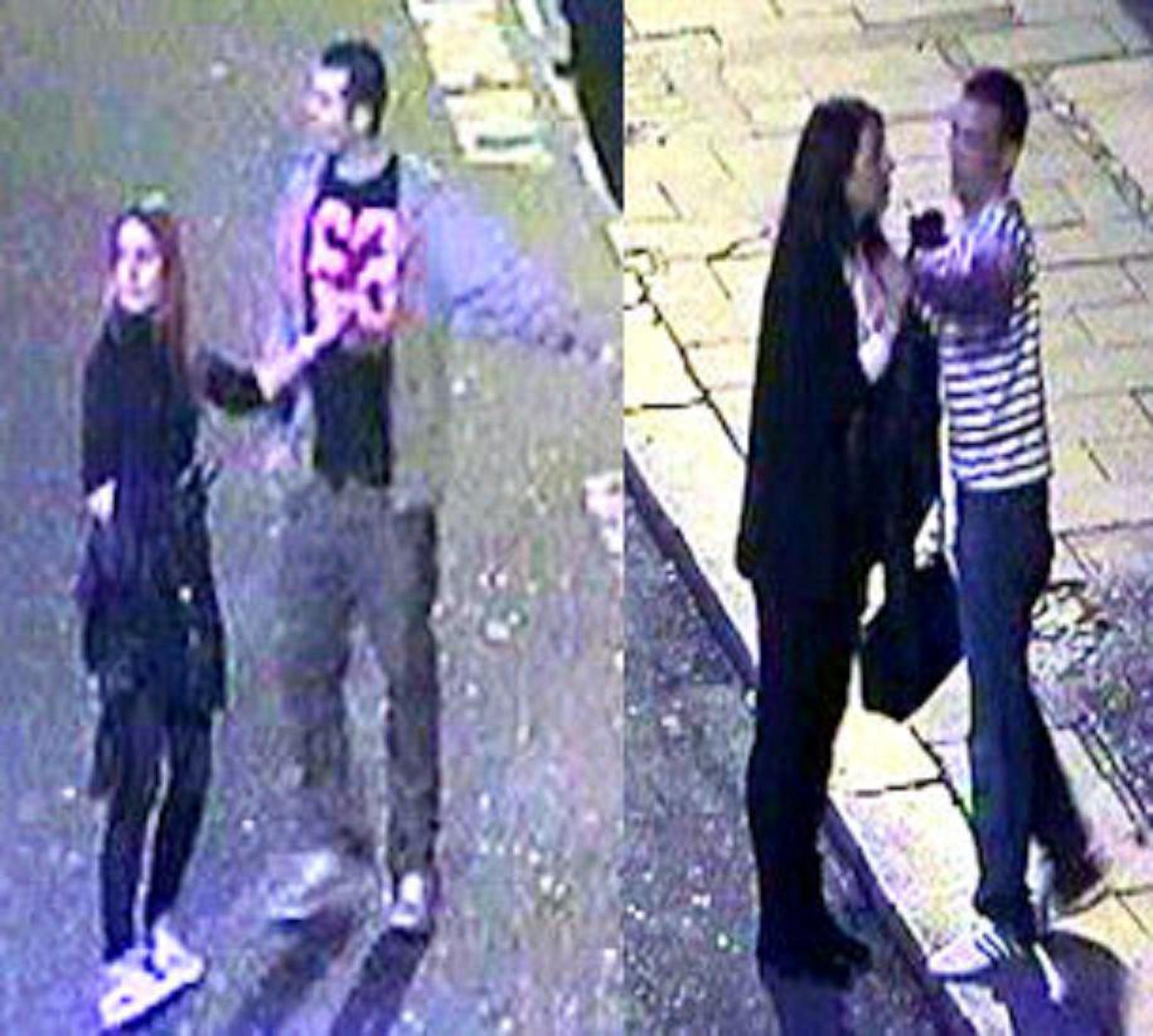Police believe these people witnessed the attack