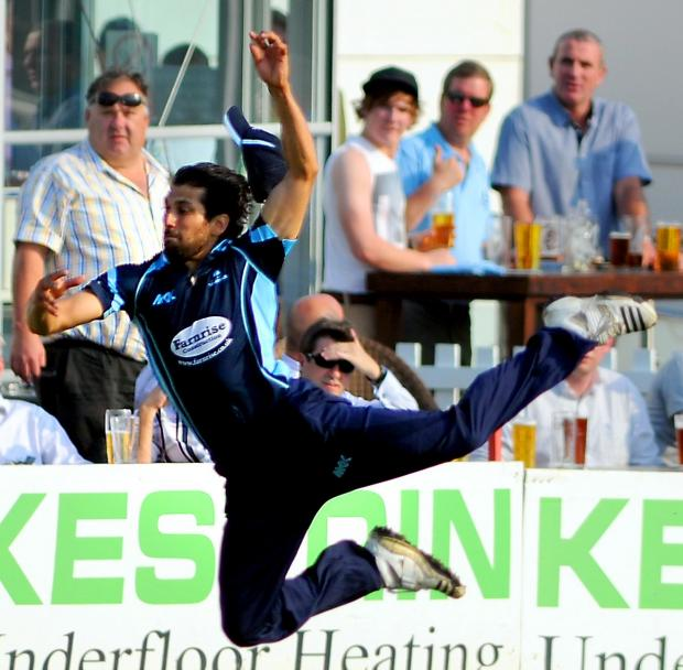 The Argus: Amjad in action