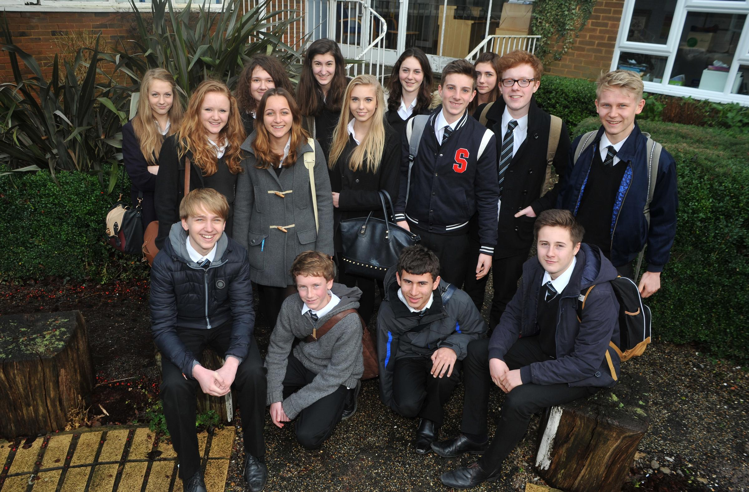 Uplands Community College pupils smash early entry grade record