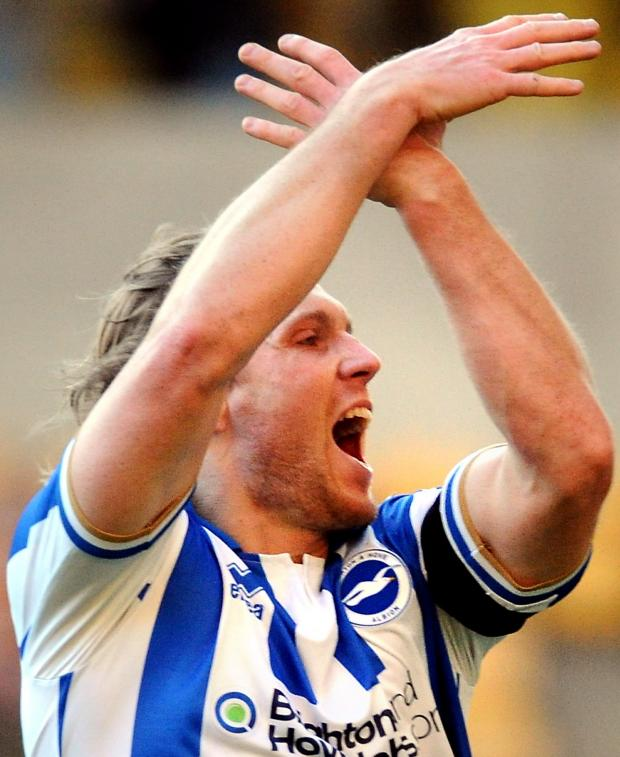 The Argus: Craig Mackail-Smith is part of Albion's travelling party for the Barnsley and Leicester games.