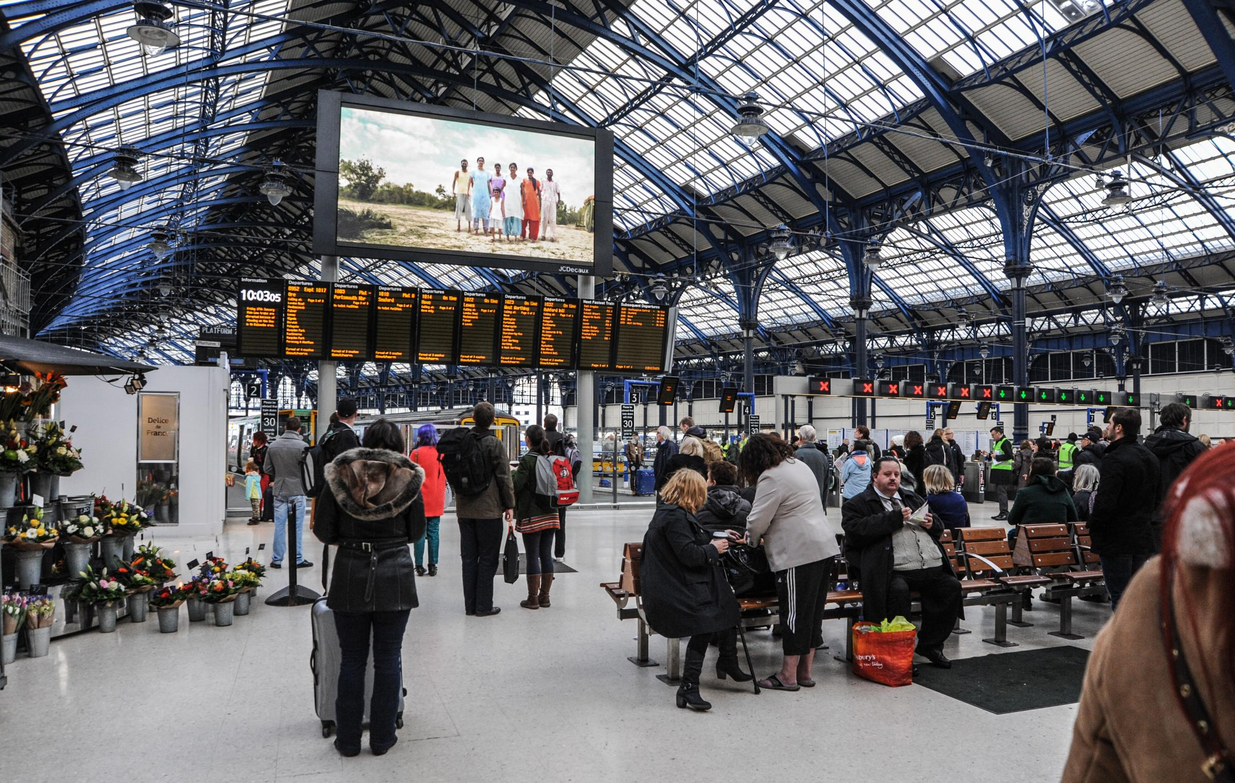 Piano at Brighton station could be key to raising commuter spirits