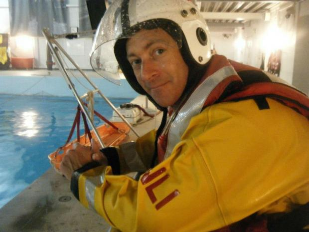The Argus: Brighton lifeboat volunteer helps Spanish sailor all at si