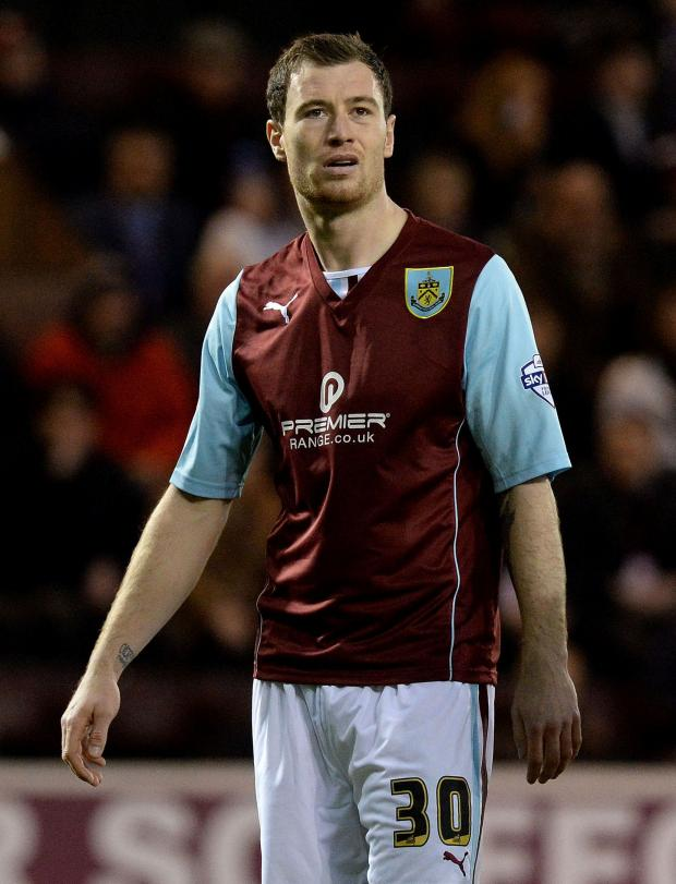 The Argus: Ashley Barnes should feature for Burnley tonight