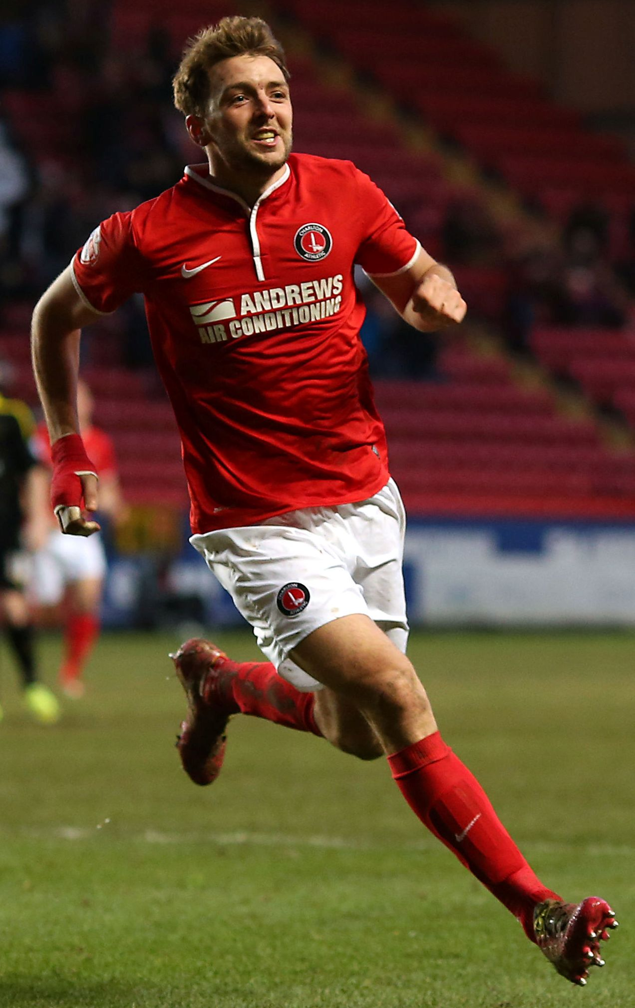 Dale Stephens in action for Chris Powell's Charlton side