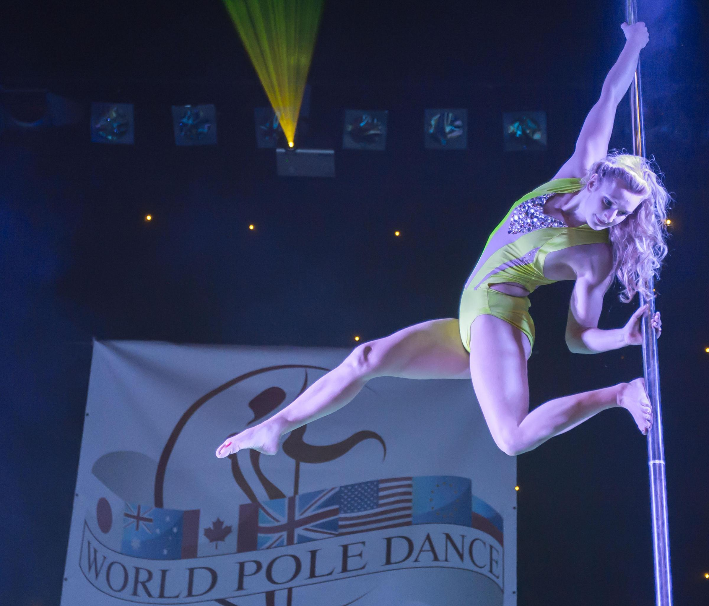 Pole dancers swing into Sussex theatre for world championships