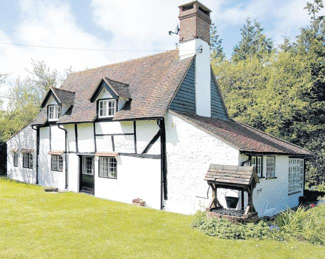 A cottage's idyll promise
