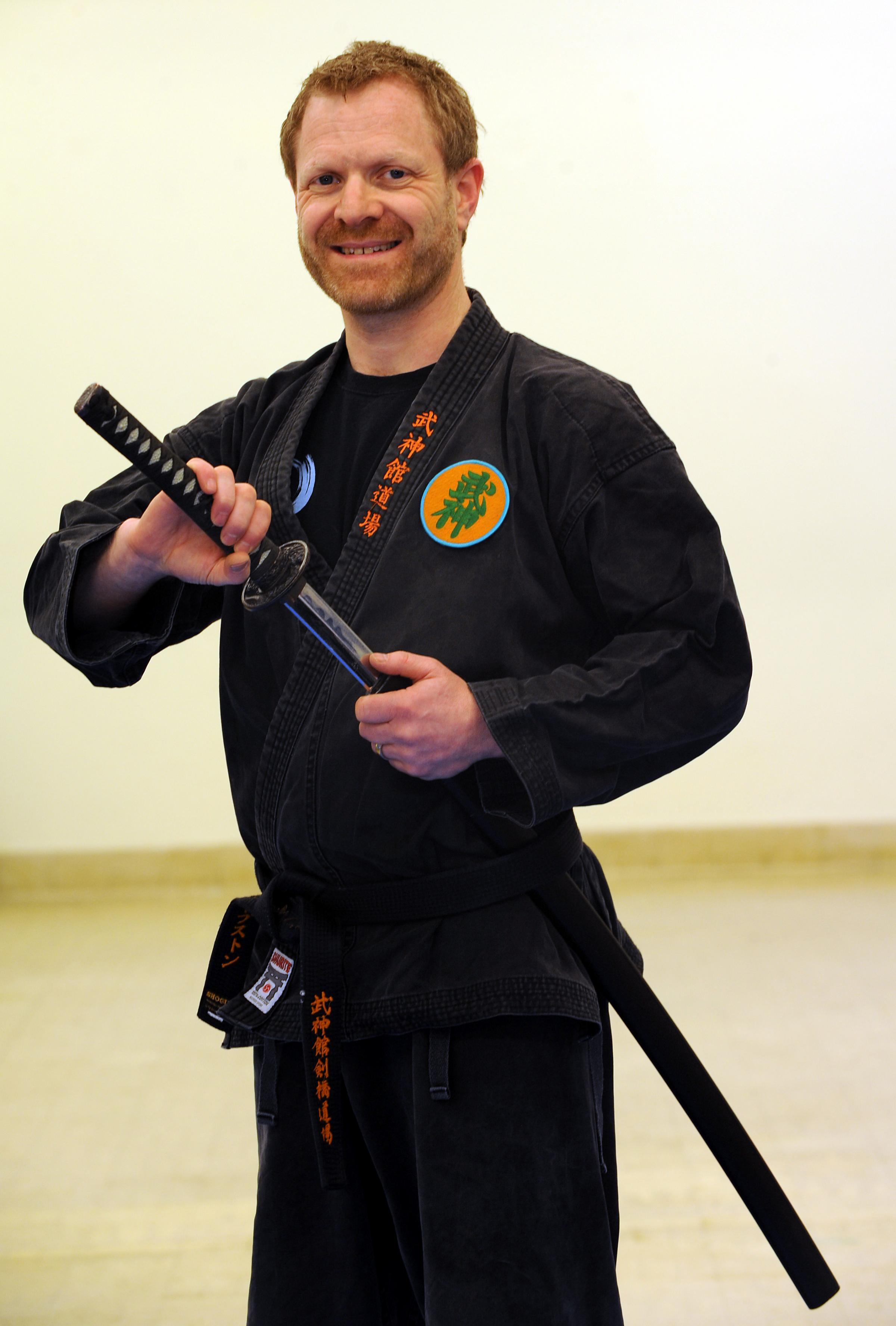 Brighton martial arts expert Jake Sharpstone achieves his Ninja dream