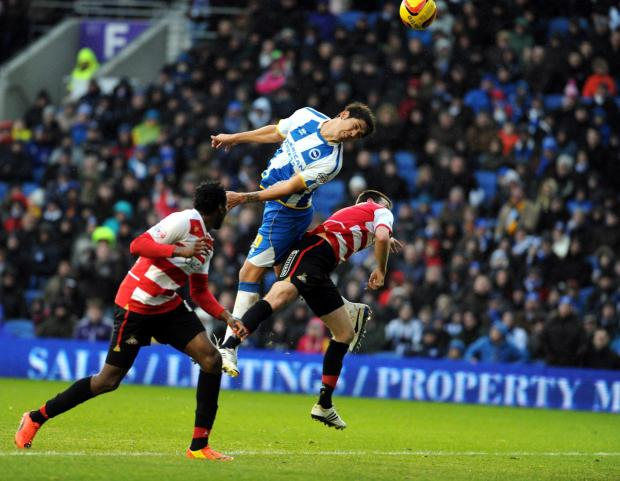 The Argus: Video: Albion v Doncaster Rovers match highlights