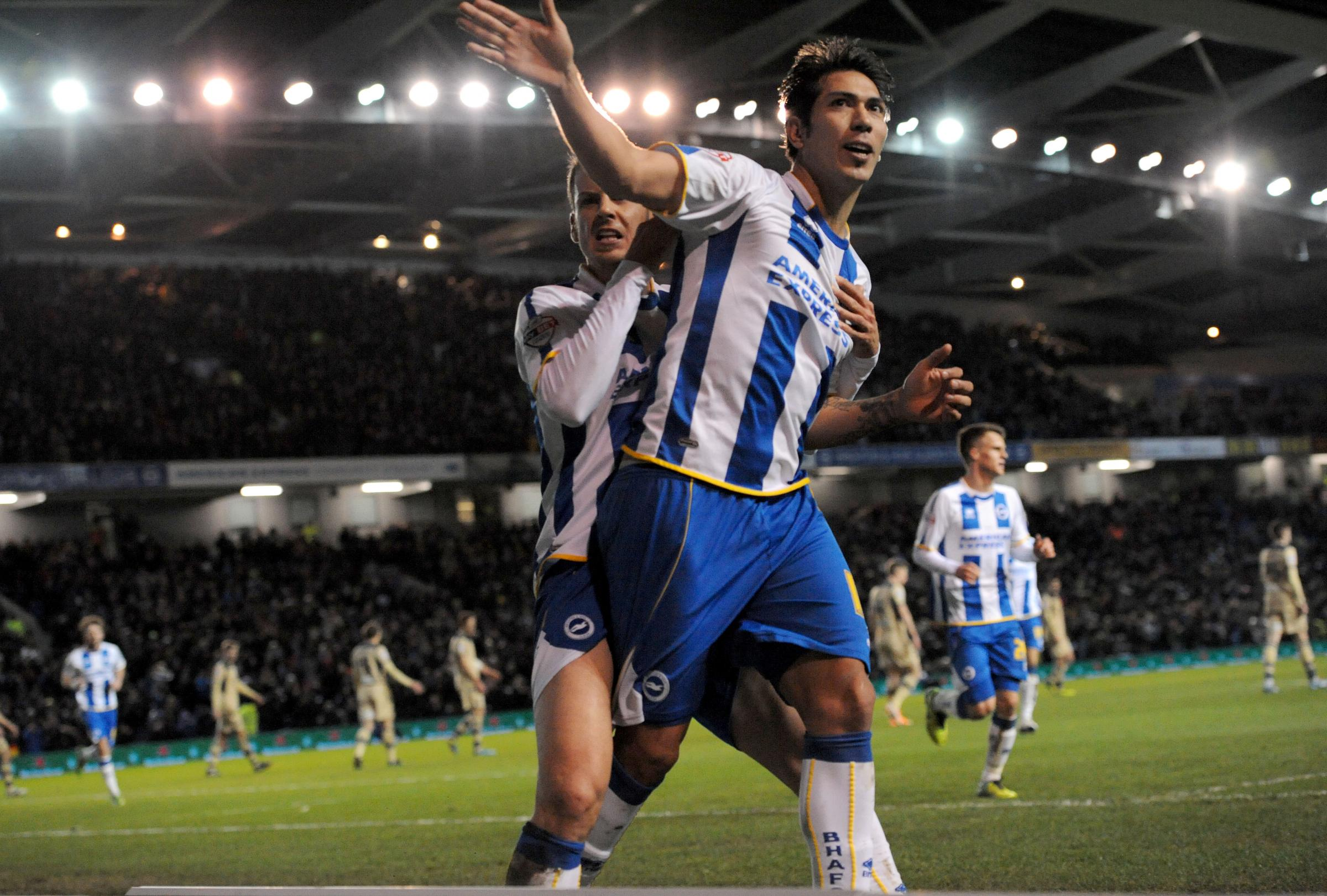 Leo Ulloa is back on the scoresheet and crucial to Albion's promotion hopes