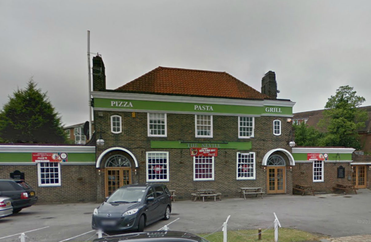 The Nevill pub. Picture from Google Streetview
