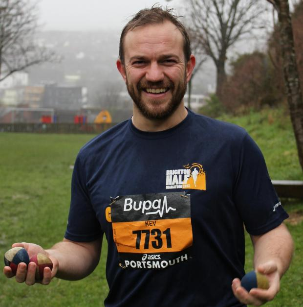 The Argus: Brighton man to run half marathon while juggling after recovering from brain injury