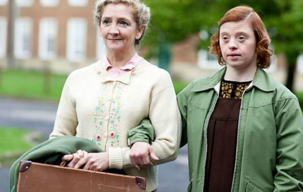 The Argus: Sarah Gordy, right, in Call the Midwife