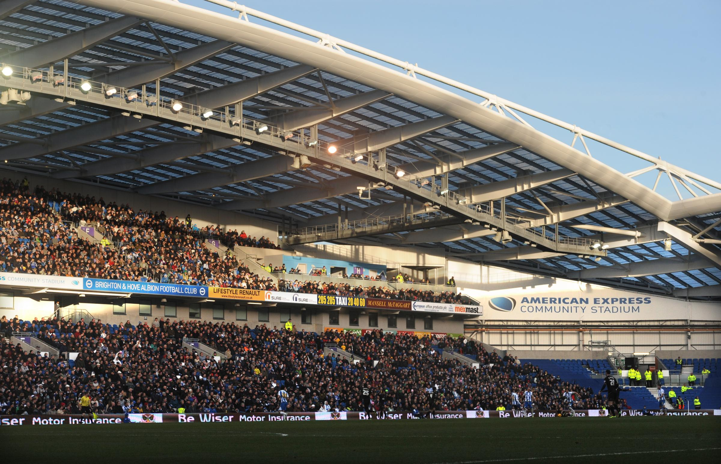 Albion fans fined £10k for parking around the Amex