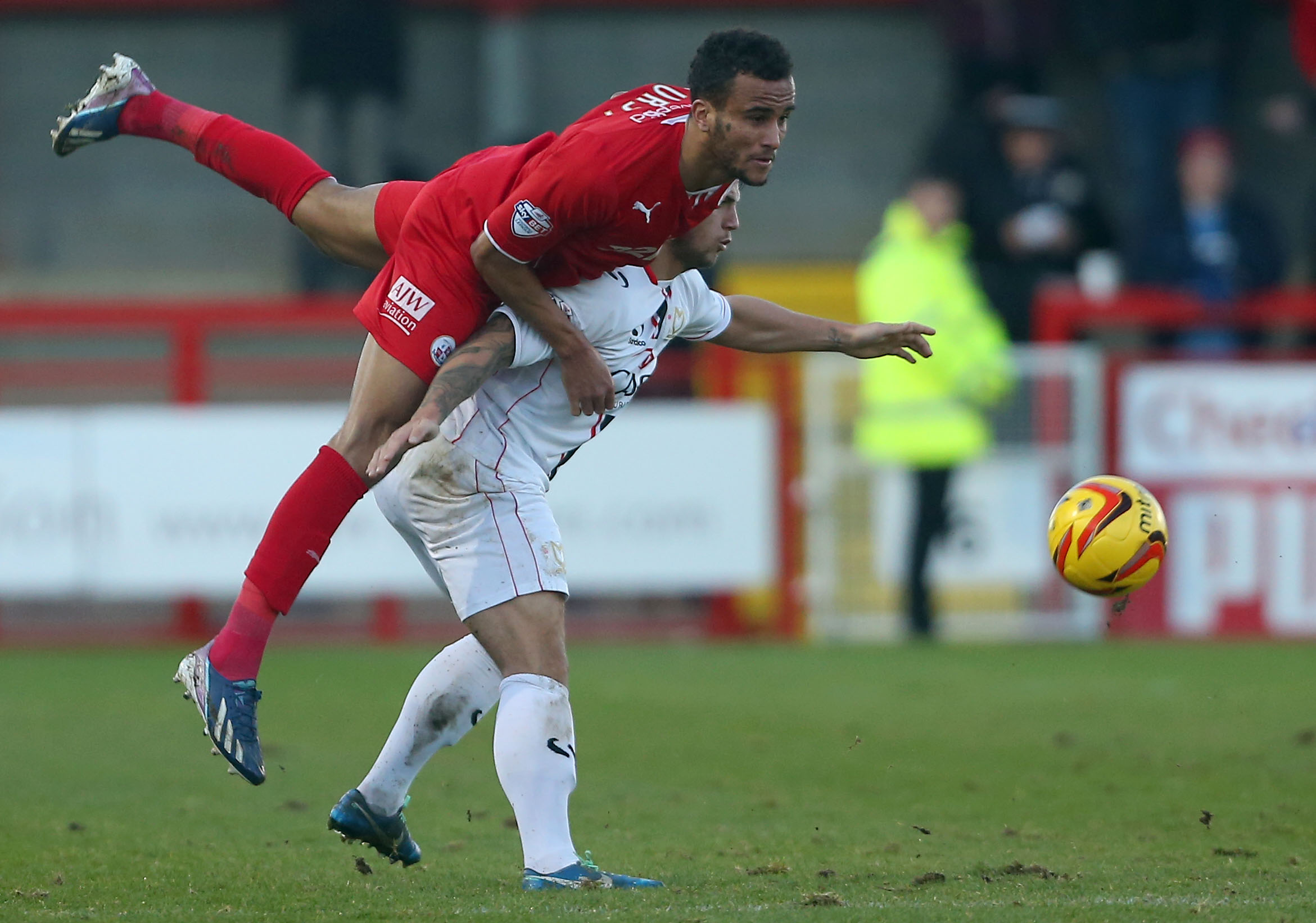 James Hurst has had his contract terminated by Crawley