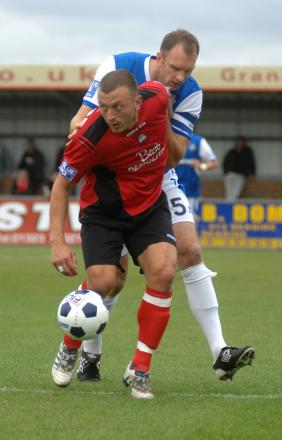 Gary Hart joined Eastbourne Borough after leaving Albion in 2011