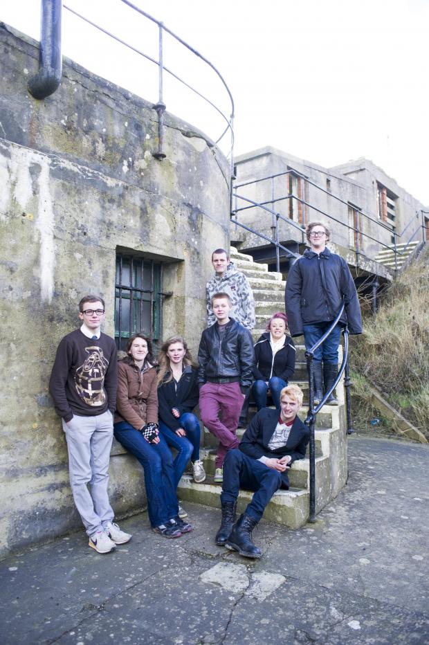 The Argus: The team at Newhaven Fort
