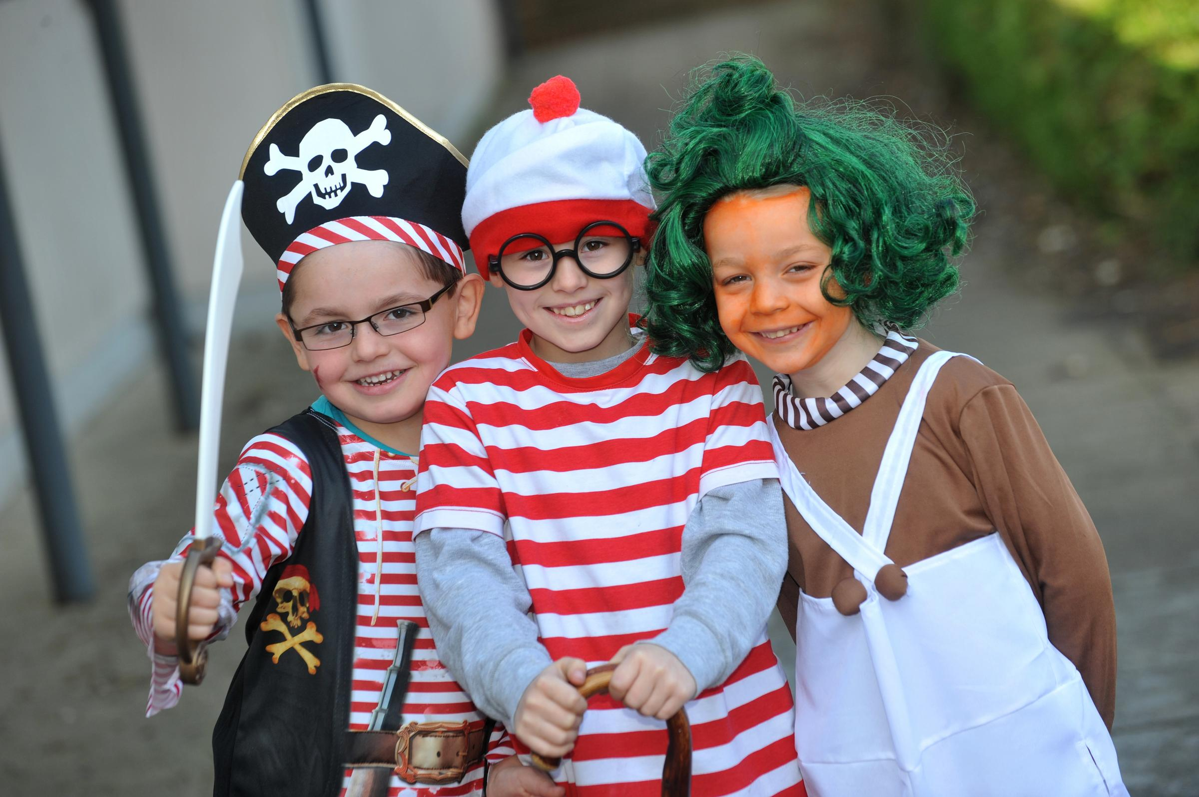 Sussex schoolchildren celebrate World Book Day