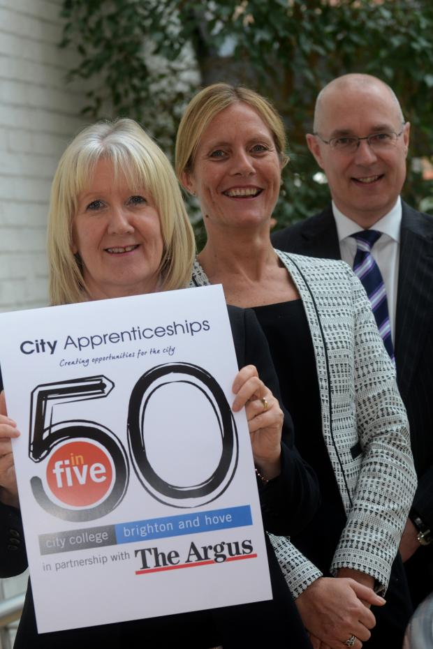 The Argus: You're hired - The Argus campaign smashes apprenticeships target with 67 youngsters taken on by firms