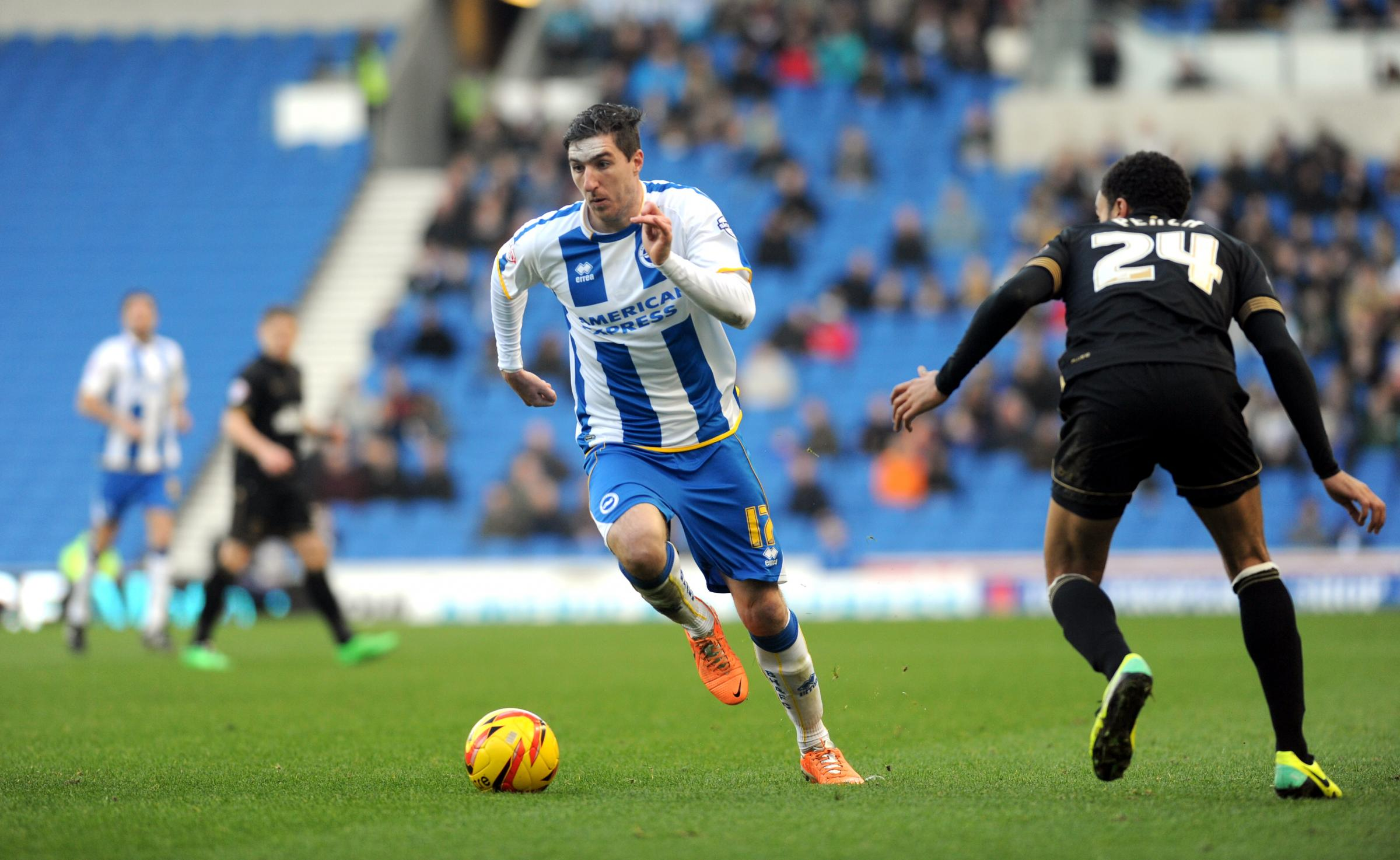Stephen Ward says Albion have no fear going away from home