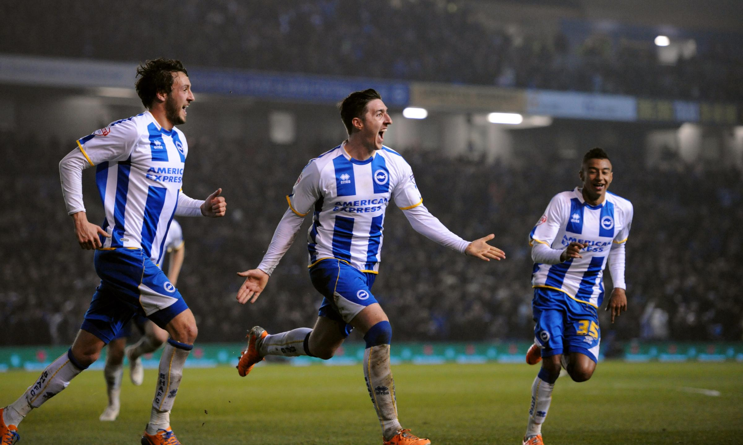 Stephen Ward scored the clincher against QPR which puts Albion in sight of a play-off spot