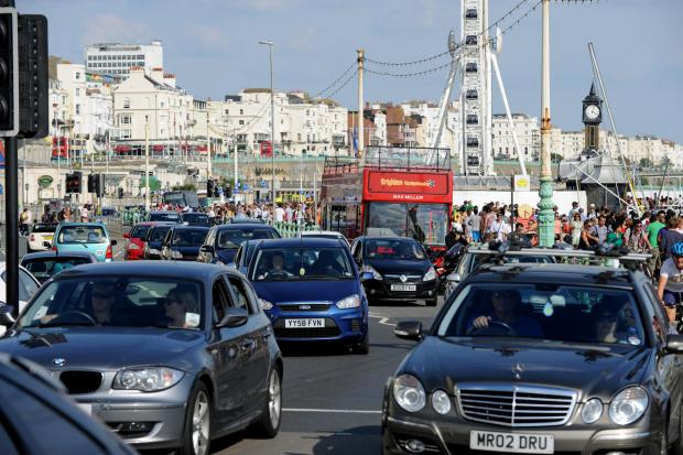 The Argus: Brighton and Hove car ownership declines