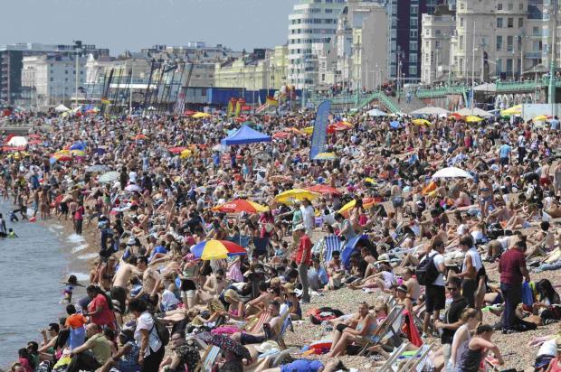 Brighton: Mini Heatwave is on the way
