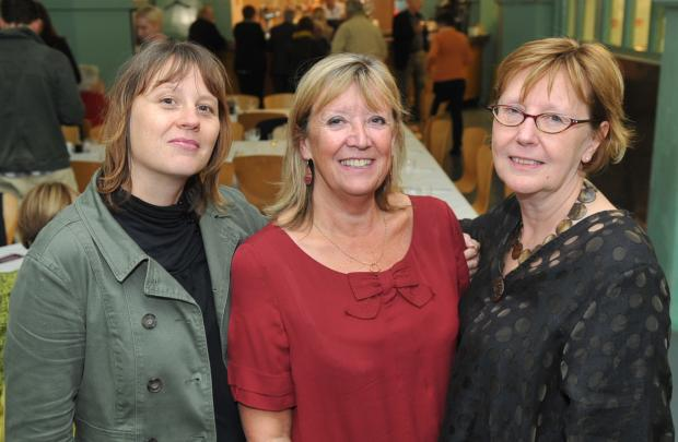 The Argus: Brighton Women's Centre director Lisa Dando (left), trustee Jane Simmons (centre) and chairwoman Gillian Cunliffe