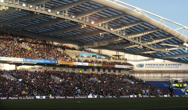 Albion fans can watch tomorrow night's match at Leeds in the Heineken Lounge at the Amex