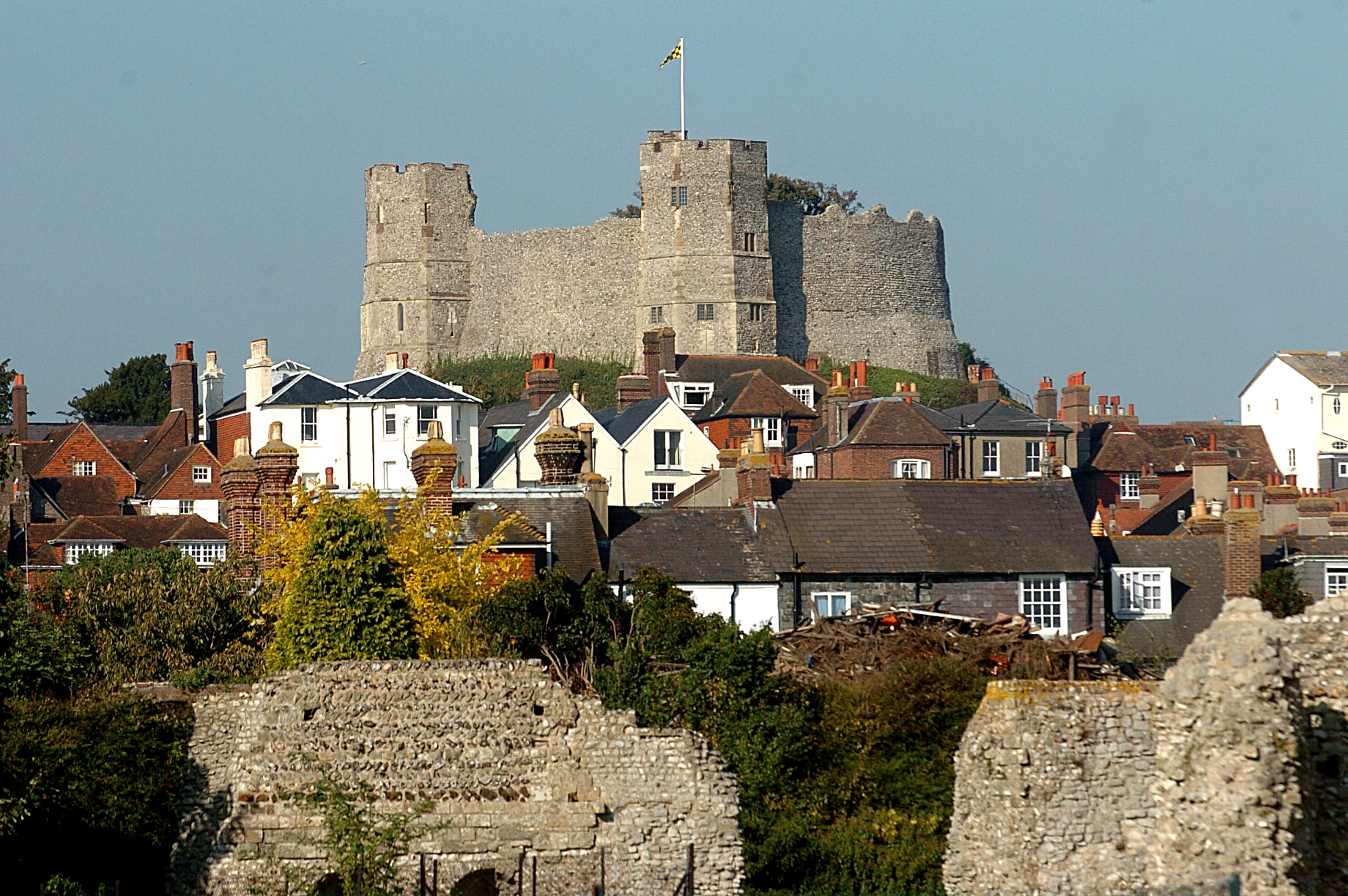 Lewes and Rye are named among UK's best towns