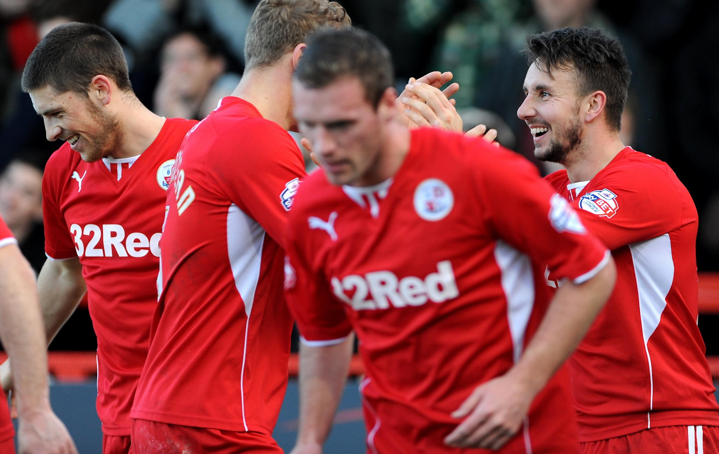 Crawley hope to have plenty more to celebrate