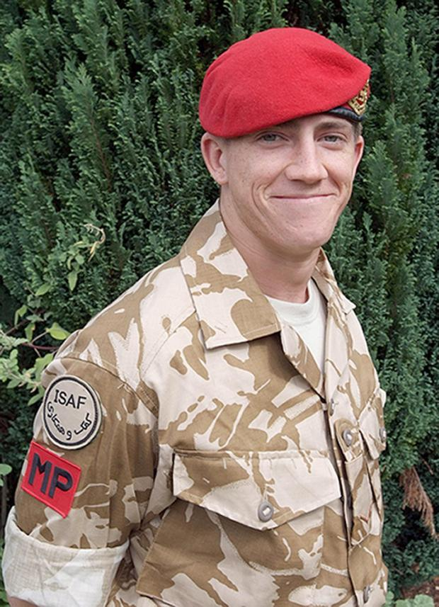The Argus: Lance Corporal Michael Pritchard