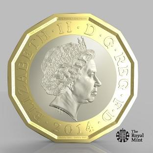 The Argus: The new pound coin