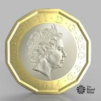 The Argus: The new one pound coin announced by the Government will be the most secure coin in circulation in the world (HM Treasury/PA)